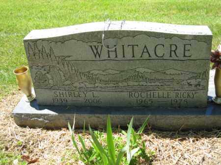 WHITACRE, SHIRLEY L. - Union County, Ohio | SHIRLEY L. WHITACRE - Ohio Gravestone Photos