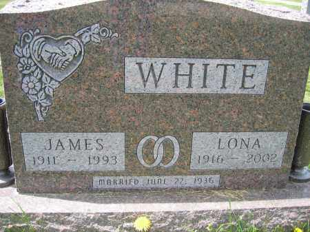 WHITE, LONA - Union County, Ohio | LONA WHITE - Ohio Gravestone Photos