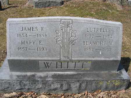 WHITE, JAMES F. - Union County, Ohio | JAMES F. WHITE - Ohio Gravestone Photos