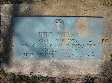 WIANT, BERT - Union County, Ohio | BERT WIANT - Ohio Gravestone Photos