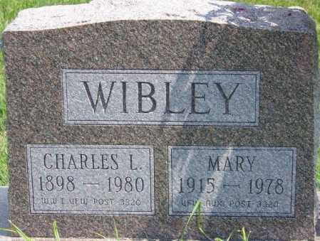 WIBLEY, MARY - Union County, Ohio | MARY WIBLEY - Ohio Gravestone Photos