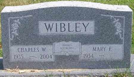 WIBLEY, MARY F - Union County, Ohio | MARY F WIBLEY - Ohio Gravestone Photos