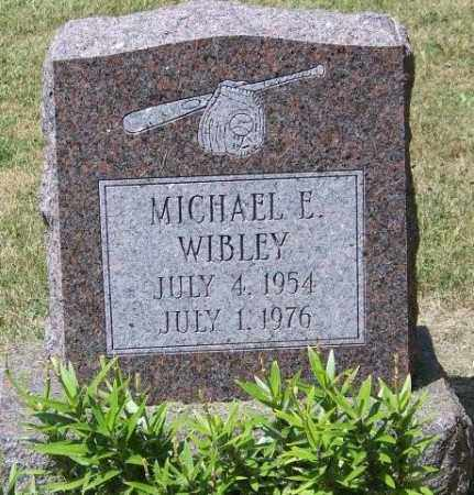 WIBLEY, MICHAEL E. - Union County, Ohio | MICHAEL E. WIBLEY - Ohio Gravestone Photos