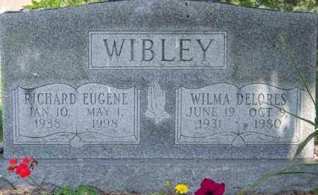 WIBLEY, RICHARD EUGENE - Union County, Ohio | RICHARD EUGENE WIBLEY - Ohio Gravestone Photos