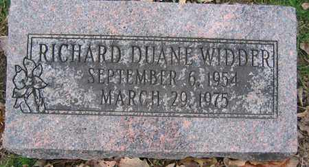 WIDDER, RICHARD DUANE - Union County, Ohio | RICHARD DUANE WIDDER - Ohio Gravestone Photos