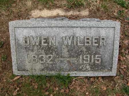 WILBER, OWEN - Union County, Ohio | OWEN WILBER - Ohio Gravestone Photos