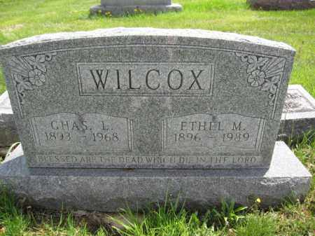 WILCOX, ETHEL M. - Union County, Ohio | ETHEL M. WILCOX - Ohio Gravestone Photos
