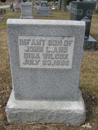 WILCOX, INFANT SON - Union County, Ohio | INFANT SON WILCOX - Ohio Gravestone Photos