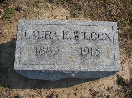 WILCOX, LAURA E. - Union County, Ohio | LAURA E. WILCOX - Ohio Gravestone Photos