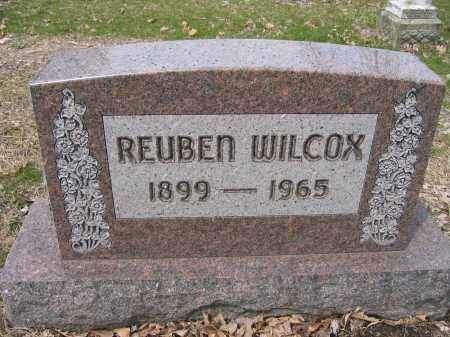 WILCOX, REUBEN - Union County, Ohio | REUBEN WILCOX - Ohio Gravestone Photos