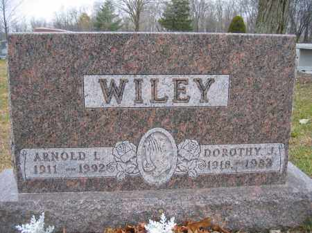 WILEY, DOROTHY J. - Union County, Ohio | DOROTHY J. WILEY - Ohio Gravestone Photos