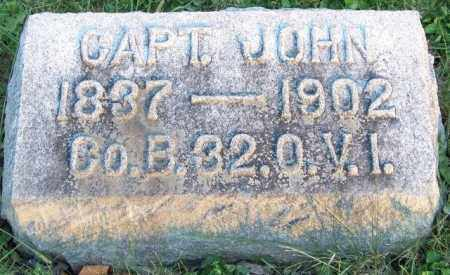 WILEY, CAPT. JOHN - Union County, Ohio | CAPT. JOHN WILEY - Ohio Gravestone Photos