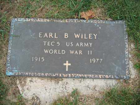 WILEY, EARL B. - Union County, Ohio | EARL B. WILEY - Ohio Gravestone Photos