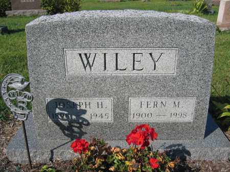 WILEY, FERN M. - Union County, Ohio | FERN M. WILEY - Ohio Gravestone Photos