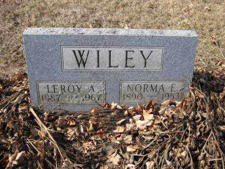 WILEY, LEROY A. - Union County, Ohio | LEROY A. WILEY - Ohio Gravestone Photos