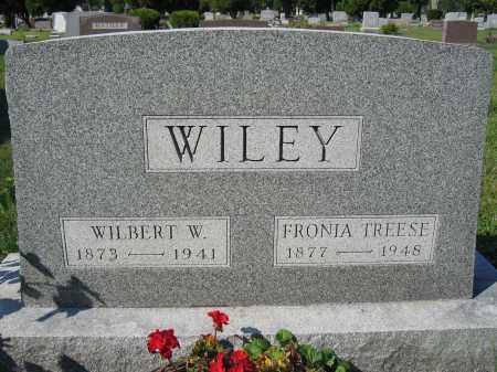 WILEY, FRONIA TREESE - Union County, Ohio | FRONIA TREESE WILEY - Ohio Gravestone Photos