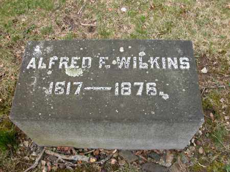 WILKINS, ALFRED F. - Union County, Ohio | ALFRED F. WILKINS - Ohio Gravestone Photos