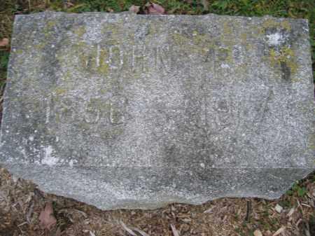 WILKINS, JOHN P. - Union County, Ohio | JOHN P. WILKINS - Ohio Gravestone Photos