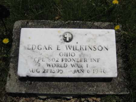WILKINSON, EDGAR E. - Union County, Ohio | EDGAR E. WILKINSON - Ohio Gravestone Photos