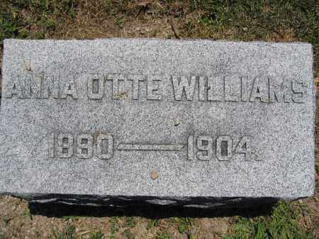 WILLIAMS, ANNA OTTE - Union County, Ohio | ANNA OTTE WILLIAMS - Ohio Gravestone Photos