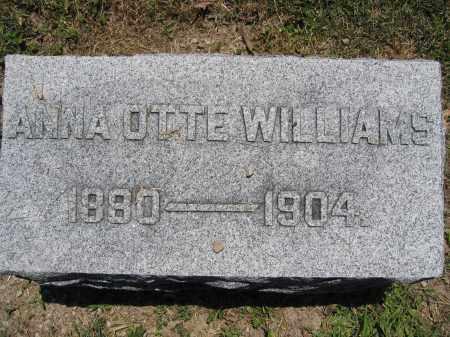 WILLIAMS, ANNA OTTE - Union County, Ohio | ANNA OTTE WILLIAMS - Ohio Gravestone Photos