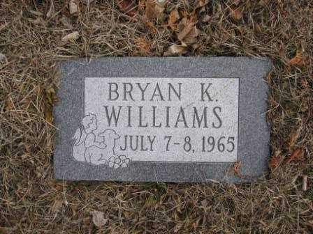 WILLIAMS, BRYAN K. - Union County, Ohio | BRYAN K. WILLIAMS - Ohio Gravestone Photos