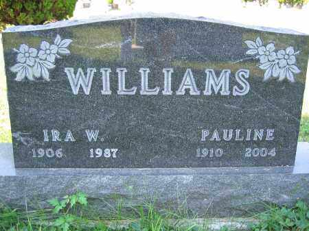 WILLIAMS, IRA W. - Union County, Ohio | IRA W. WILLIAMS - Ohio Gravestone Photos