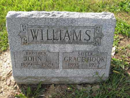 WILLIAMS, GRACE HOOK - Union County, Ohio | GRACE HOOK WILLIAMS - Ohio Gravestone Photos
