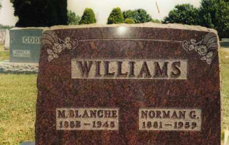 WILLIAMS, NORMAN G. - Union County, Ohio | NORMAN G. WILLIAMS - Ohio Gravestone Photos