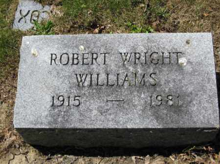 WILLIAMS, ROBERT WRIGHT - Union County, Ohio | ROBERT WRIGHT WILLIAMS - Ohio Gravestone Photos
