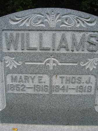 WILLIAMS, MARY E. - Union County, Ohio | MARY E. WILLIAMS - Ohio Gravestone Photos