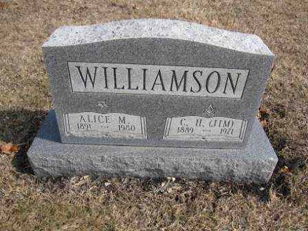 WILLIAMSON, ALICE M. - Union County, Ohio | ALICE M. WILLIAMSON - Ohio Gravestone Photos