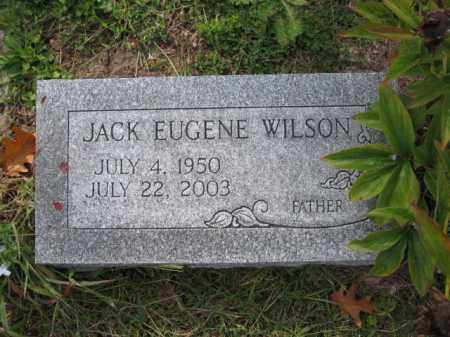 WILSON, JACK EUGENE - Union County, Ohio | JACK EUGENE WILSON - Ohio Gravestone Photos