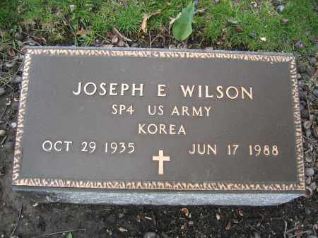 WILSON, JOSEPH E. - Union County, Ohio | JOSEPH E. WILSON - Ohio Gravestone Photos