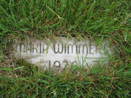 WIMMERS, MARIA - Union County, Ohio | MARIA WIMMERS - Ohio Gravestone Photos