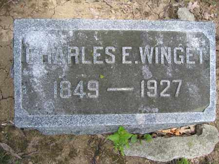 WINGET, CHARLES E. - Union County, Ohio | CHARLES E. WINGET - Ohio Gravestone Photos