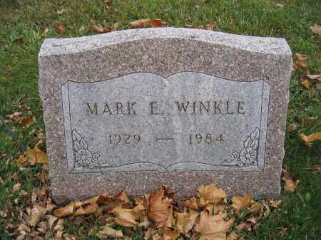 WINKLE, MARK E. - Union County, Ohio | MARK E. WINKLE - Ohio Gravestone Photos
