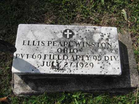 WINSTON, ELLIS PEARL - Union County, Ohio | ELLIS PEARL WINSTON - Ohio Gravestone Photos