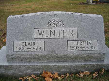 WINTER, BLAIR - Union County, Ohio | BLAIR WINTER - Ohio Gravestone Photos
