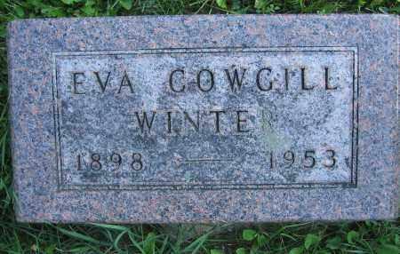 WINTER, EVA COWGILL - Union County, Ohio | EVA COWGILL WINTER - Ohio Gravestone Photos