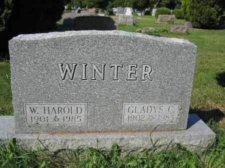 WINTER, W. HAROLD - Union County, Ohio | W. HAROLD WINTER - Ohio Gravestone Photos