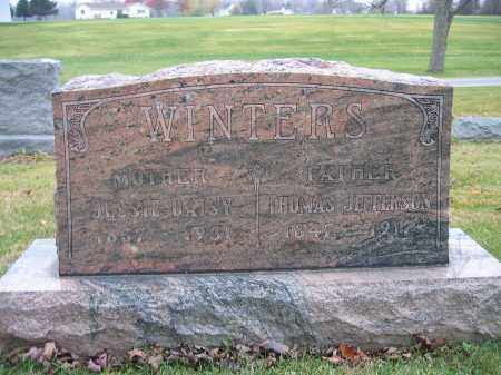 WINTERS, JESSIE DAISY - Union County, Ohio | JESSIE DAISY WINTERS - Ohio Gravestone Photos