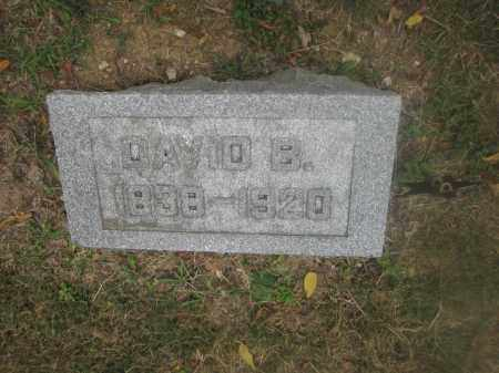 WISE, DAVID B. - Union County, Ohio | DAVID B. WISE - Ohio Gravestone Photos