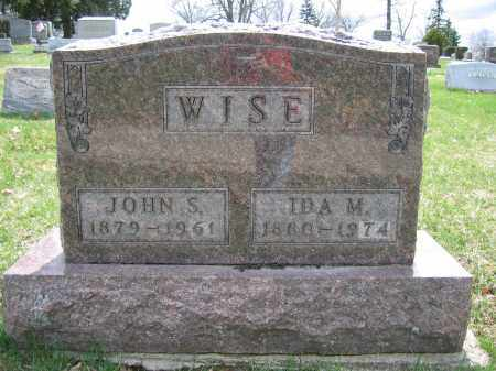 WISE, JOHN S. - Union County, Ohio | JOHN S. WISE - Ohio Gravestone Photos
