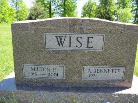 WISE, MILTON - Union County, Ohio | MILTON WISE - Ohio Gravestone Photos