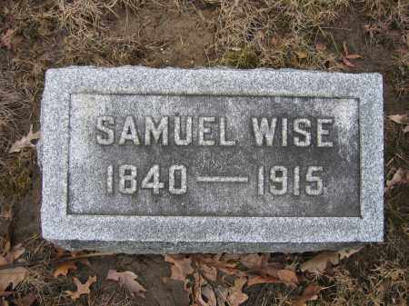 WISE, SAMUEL - Union County, Ohio | SAMUEL WISE - Ohio Gravestone Photos