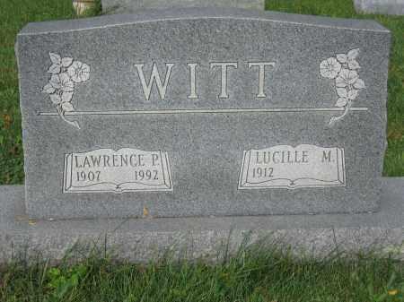WITT, LUCILLE M. - Union County, Ohio | LUCILLE M. WITT - Ohio Gravestone Photos