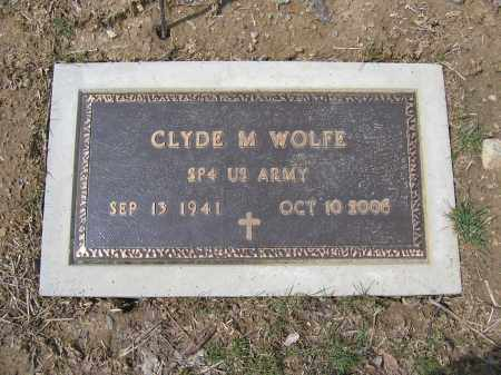 WOLFE, CLYDE M. - Union County, Ohio | CLYDE M. WOLFE - Ohio Gravestone Photos