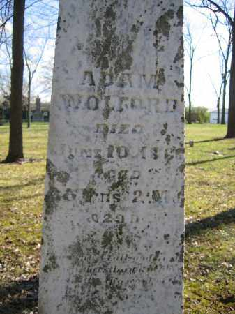 WOLFORD, ADAM - Union County, Ohio | ADAM WOLFORD - Ohio Gravestone Photos
