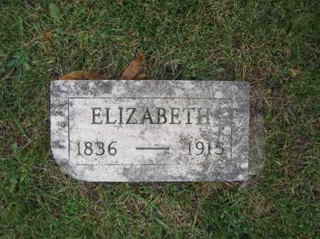 WOLFORD, ELIZABETH - Union County, Ohio | ELIZABETH WOLFORD - Ohio Gravestone Photos